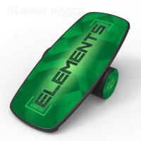 Баланс борд Elements Heavy logo Green